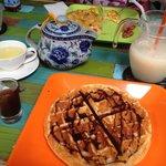 Waffle & Chocolate