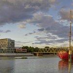 Außenansicht links der Weser