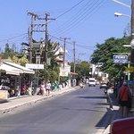 Resort main road