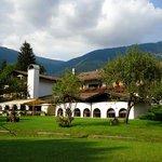 Hotel from gardens