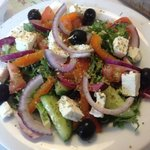 Greek salad yum yum yum
