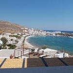 View from veranda of Room 27, Vrahos Hotel
