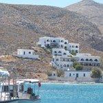 Vrahos Hotel from Karavostasis jetty