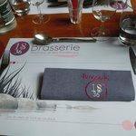 """mise en place """"Brasserie"""""""