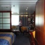 Commodore de Luxe cabin - Newcastle/Amsterdam