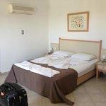 Bedroom top floor - easily holds 3 beds