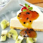 New Item :Passion Fruit Cheese Cake
