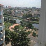 View from room at Ramada Chennai Egmore hotel