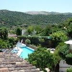 A view from a Molino del Santo terrace