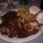 Meatloaf dinner