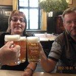 Prost! We are at Mahr's Brau :)
