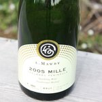 2005 Vintage Mille Brut Sparking Wine released in 2013.