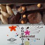 assortiments de chocolat