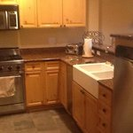 Granite counters, high end appliances, sub-zero refrig. viking stove,bosch dishwasher.