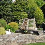 Fountain area - on grounds