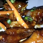 Chicken wings with Tamarind Sauce