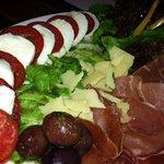 Parma Ham & Mozzarella di Bufalo salad