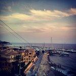 Vistas de la marna al amanecer