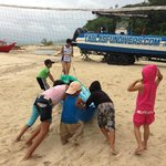 Push to Paddle with local kids