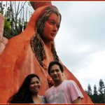 My Hubby and I first visit Our Lady of Manaoag tp Celebrate our First Wedding Anniversary