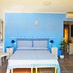 Questa è la nostra camera blu...