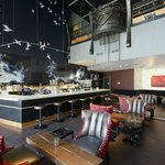 Hang out in SMG bar-lounge before or after movie