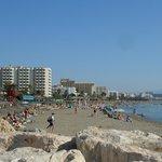 Carihuela Beach from the Benal Madena end.
