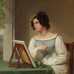 Harriet Isaac by Bristol artist Edward Rippingille c. 1829