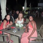 Marie my wife with Myriam and Kenya