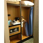 Accessible closet area