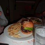 My first real hamburger