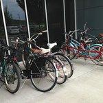 Bikes available to borrow