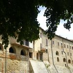 outside the walls in Citerna