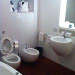 much better spacious bathroom