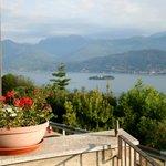 View from the garden/breakfast terrace