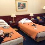 Suite dupla - Palace Hotel, Zagreb, Croátia