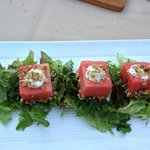 Watermelon and Whipped Feta Salad