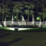 la fontana all'ingresso