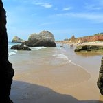 Lovely beach in Praia Da Rocha, nice walks and some little caves to visit.