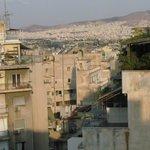 Vista dal terrazzino di Epidavros Hotel