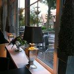Leuk hotel/restaurant, in het centrum van Oostkapelle
