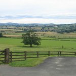 view over Coquet valley