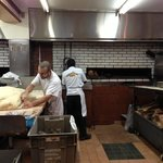 On a walking tour with hostel - Best bagels in Montreal