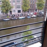 veiw of the canal from the Charlie Chaplin room