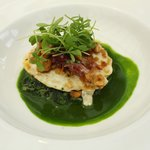 egg and watercress