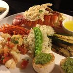 Fruit of the sea - lobster,scallops and shrimp