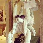 Towel monkey :)
