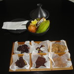 Signature chocolates and welcome fruit basket
