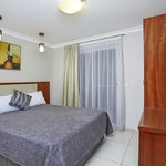 2 Storey Town House - Bedroom with Queen Bed