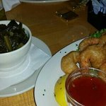shrimp and collard greens